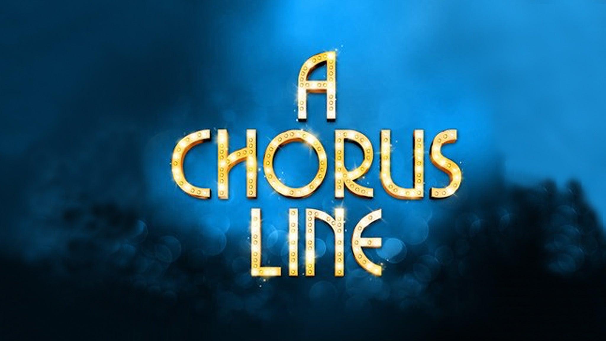 The UTEP Dinner Theatre- A Chorus Line
