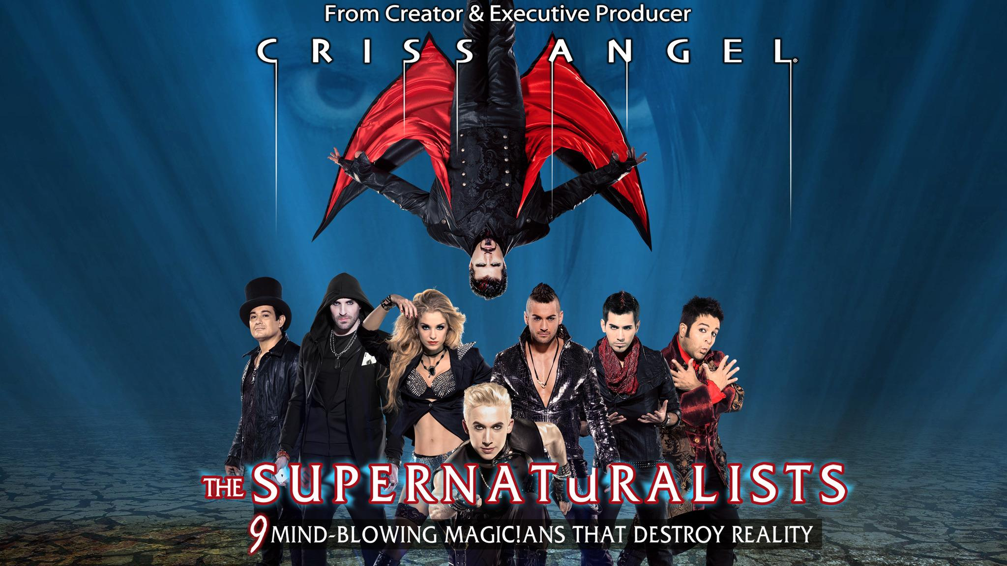 Criss Angel starring in The Supernaturalists