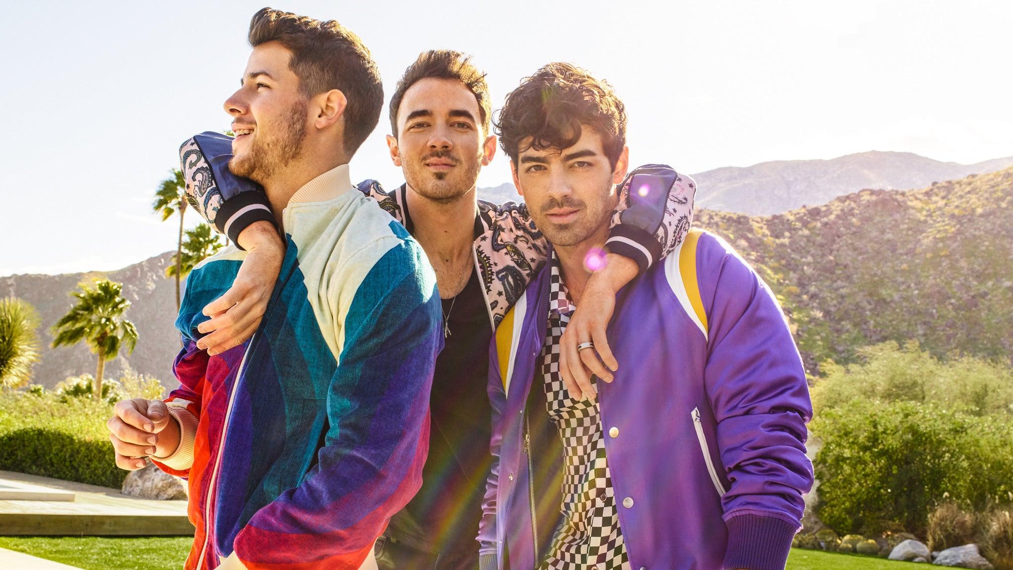 Jonas Brothers tickets (Copyright © Ticketmaster)
