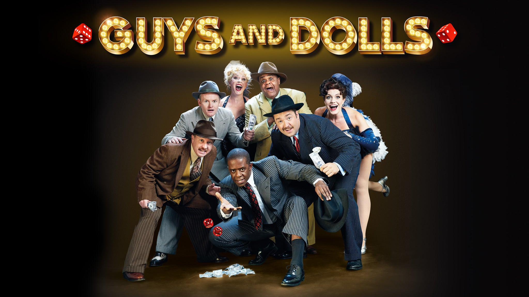 Guys & Dolls at Guthrie Theater - Wurtele Thrust Stage
