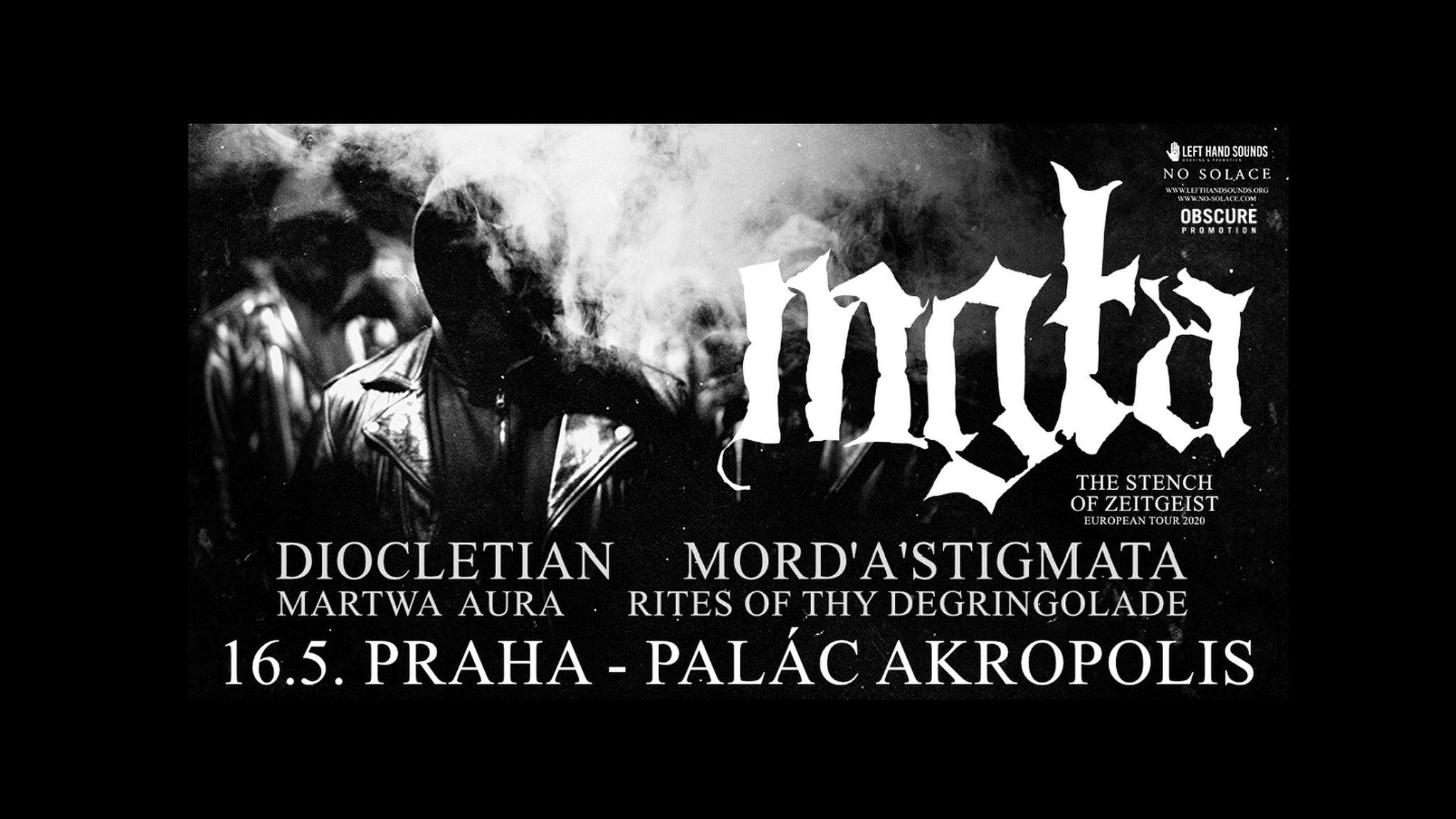 MGLA, Diocletian, Mord'A'Stigmata, Martwa Aura, Rites of Thy Degringolade