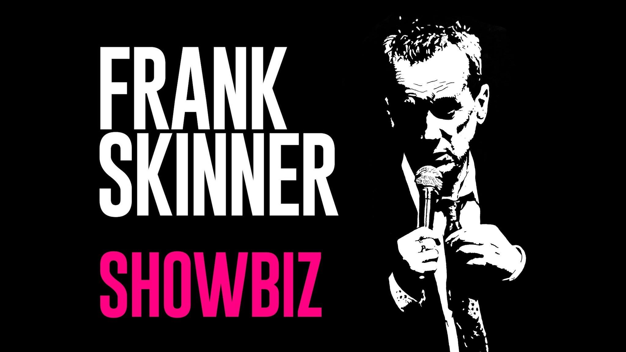 Frank Skinner- Showbiz Event Title Pic