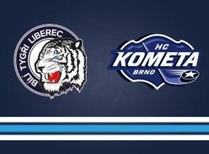 Bílí Tygři Liberec - HC Kometa Brno