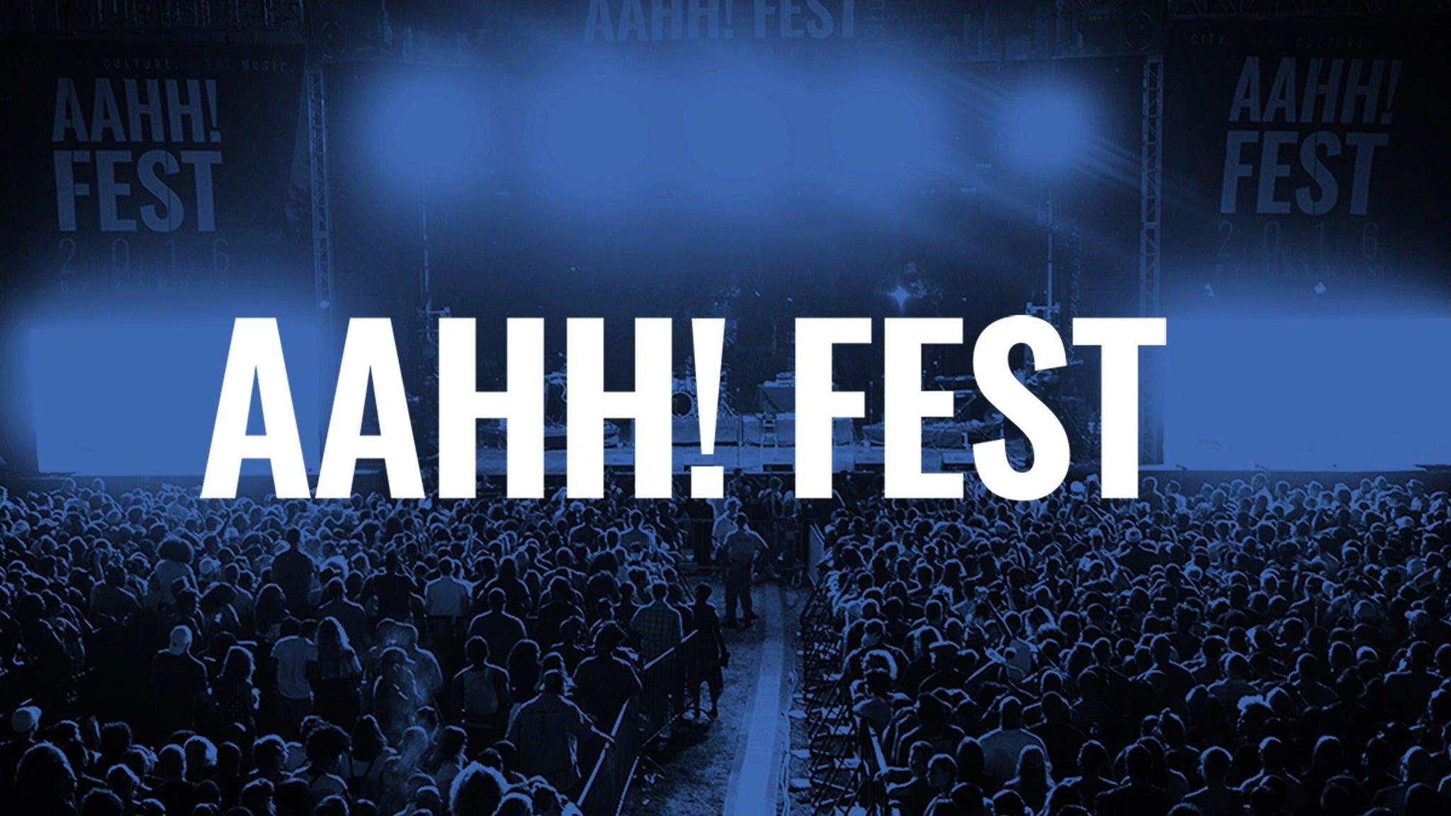 AAHH! Fest at Union Park