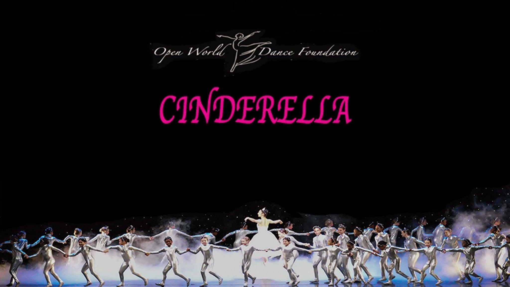 Open World Dance Foundation: Cinderella at Parker Playhouse
