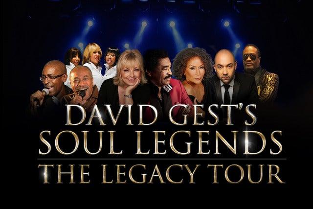 David Gest's Soul Legends York Barbican Seating Plan