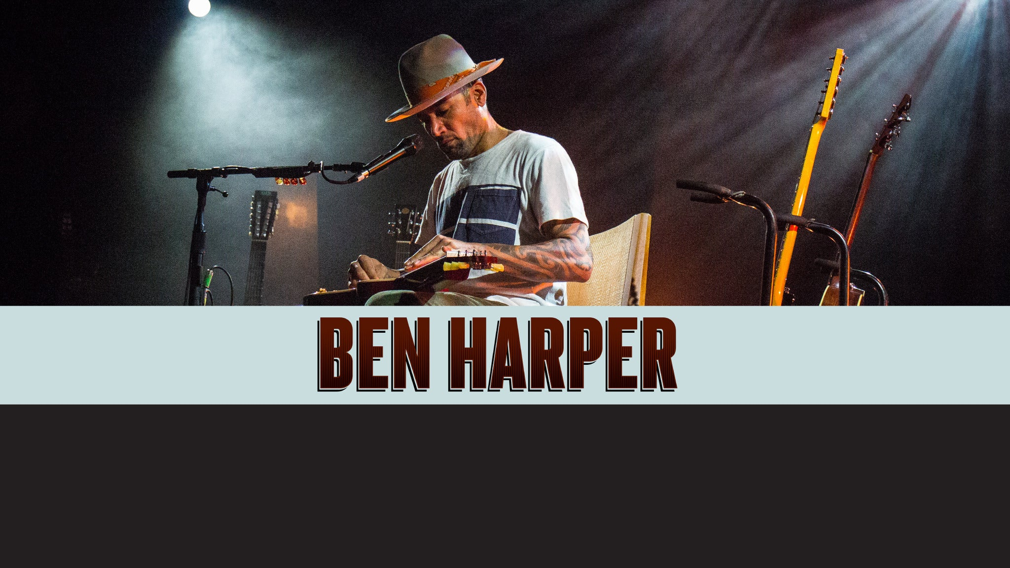 Ben Harper at Xcite Center