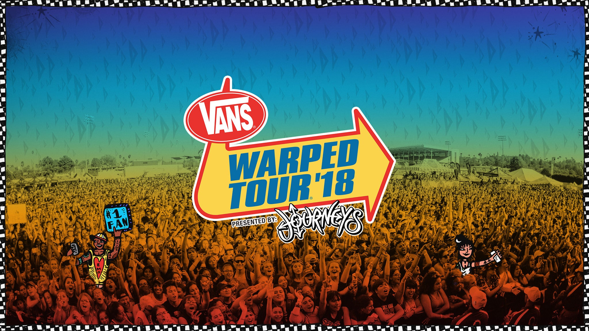 Vans Warped Tour Presented By Journeys at Ak-Chin Pavilion