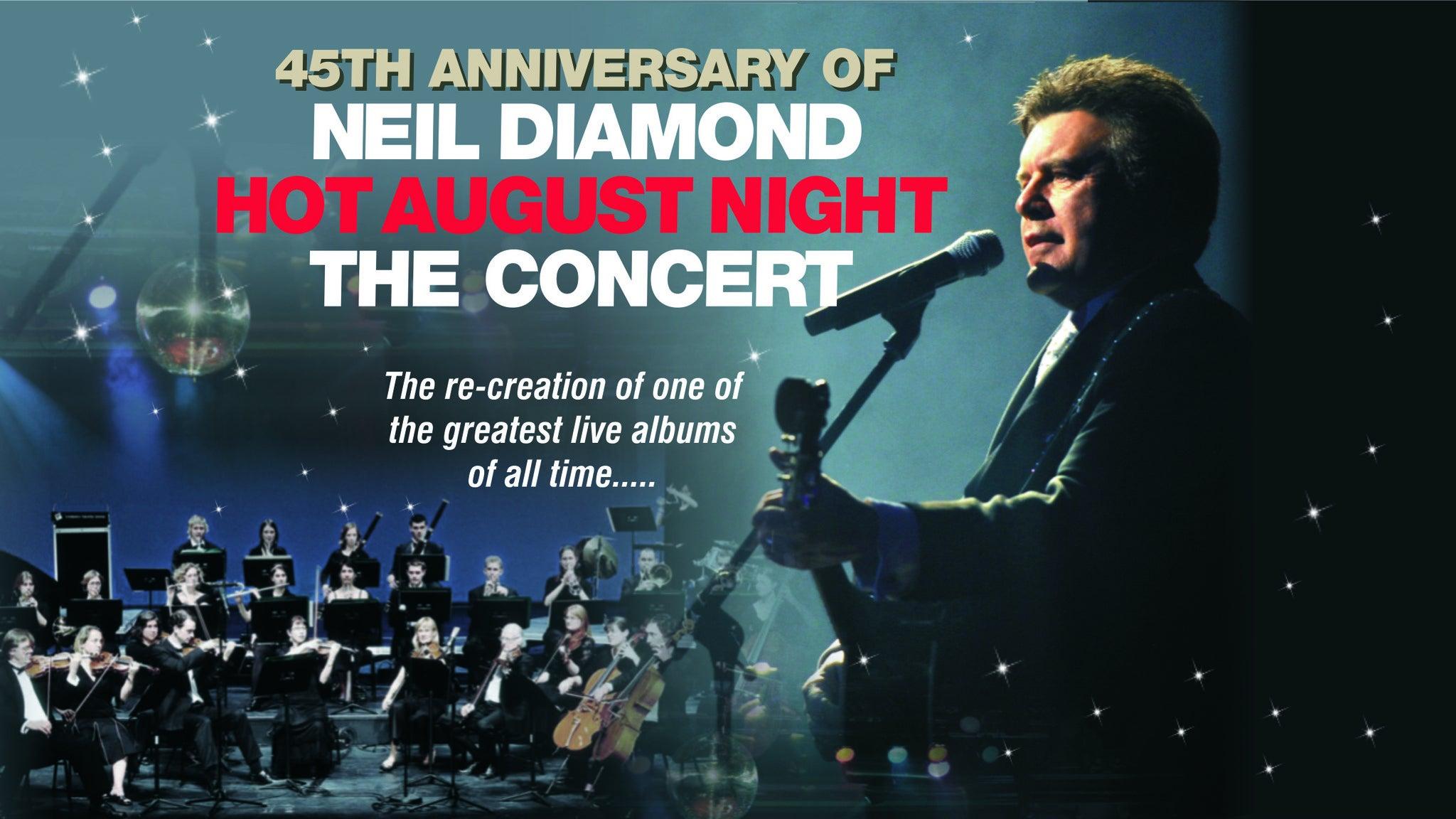 Neil Diamond Tribute Show at Acs Lounge - Soboba Casino