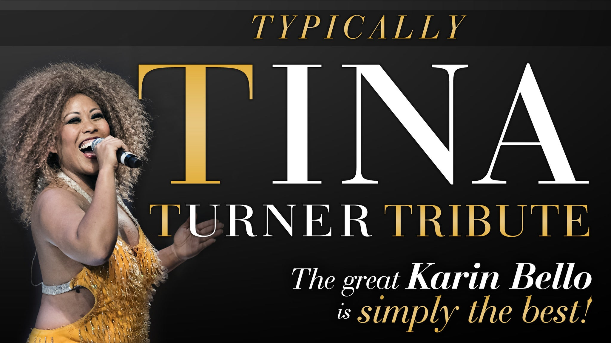 Tina Turner Tribute Show tickets (Copyright © Ticketmaster)