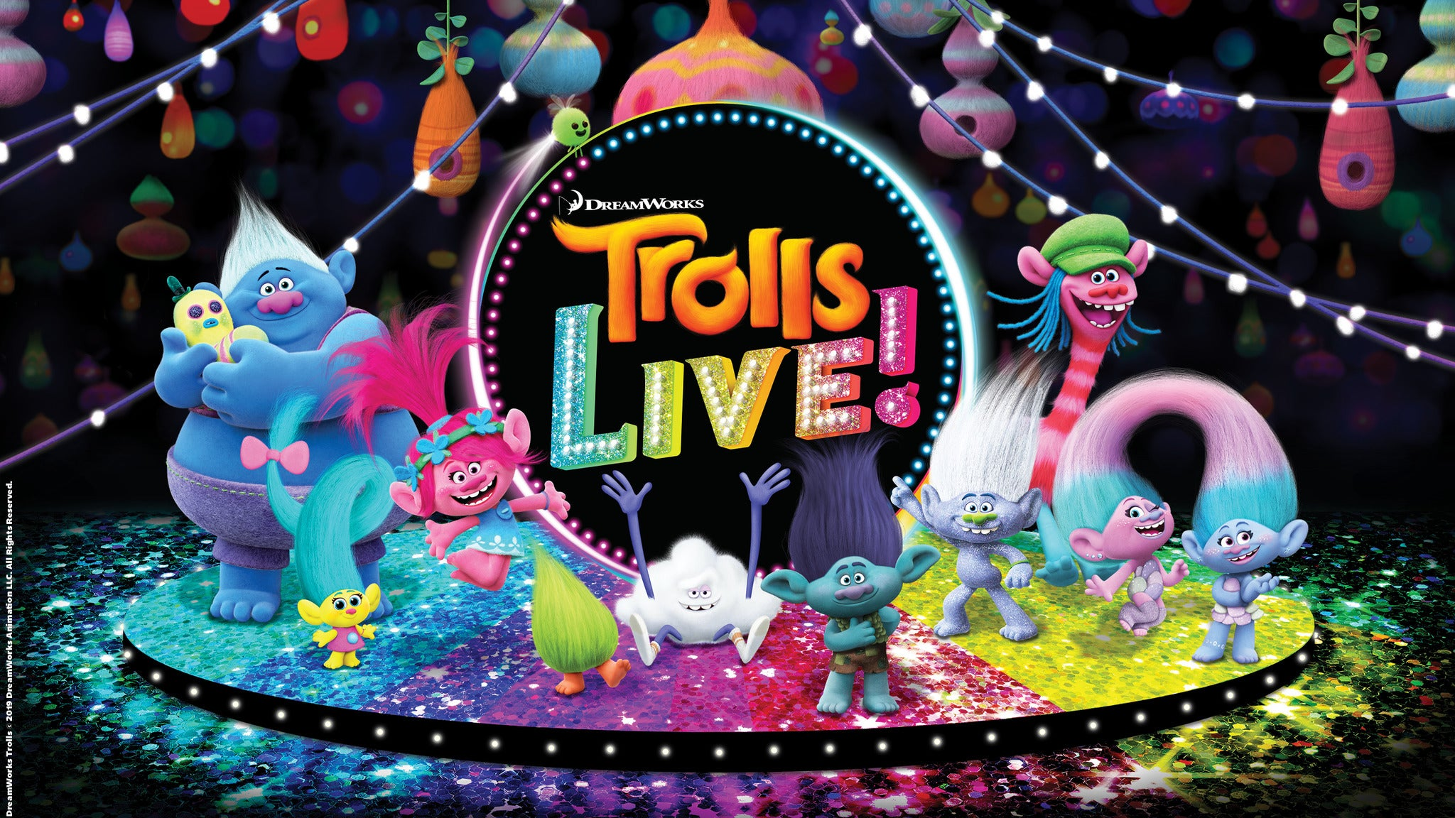 Trolls LIVE! at Harrah's Cherokee Center - Asheville