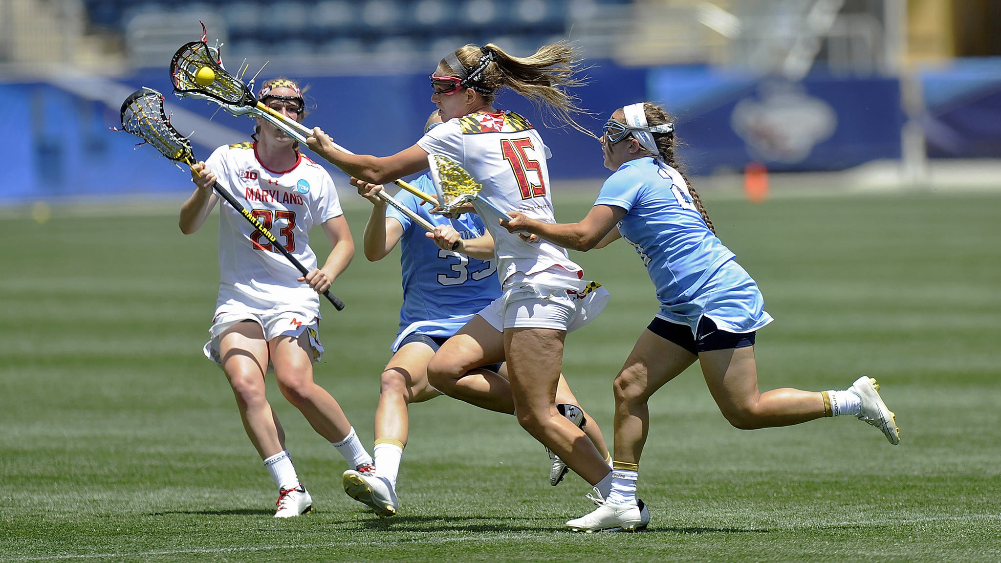 NCAA DI Women's Lacrosse Semifinals at Gillette Stadium