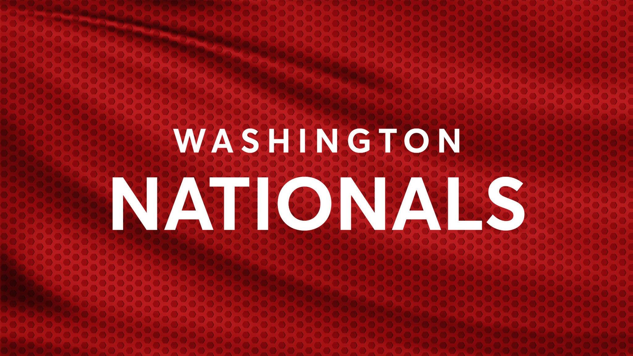 Washington Nationals vs. Arizona Diamondbacks