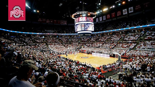 Ohio State Buckeyes Men's Basketball vs. Northwestern Wildcat Basketball // Columbus