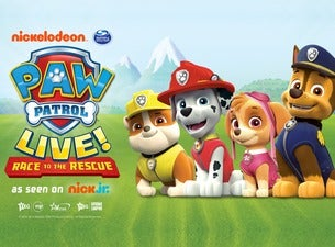Paw Patrol - Race To the Rescue Arena Birmingham Seating Plan