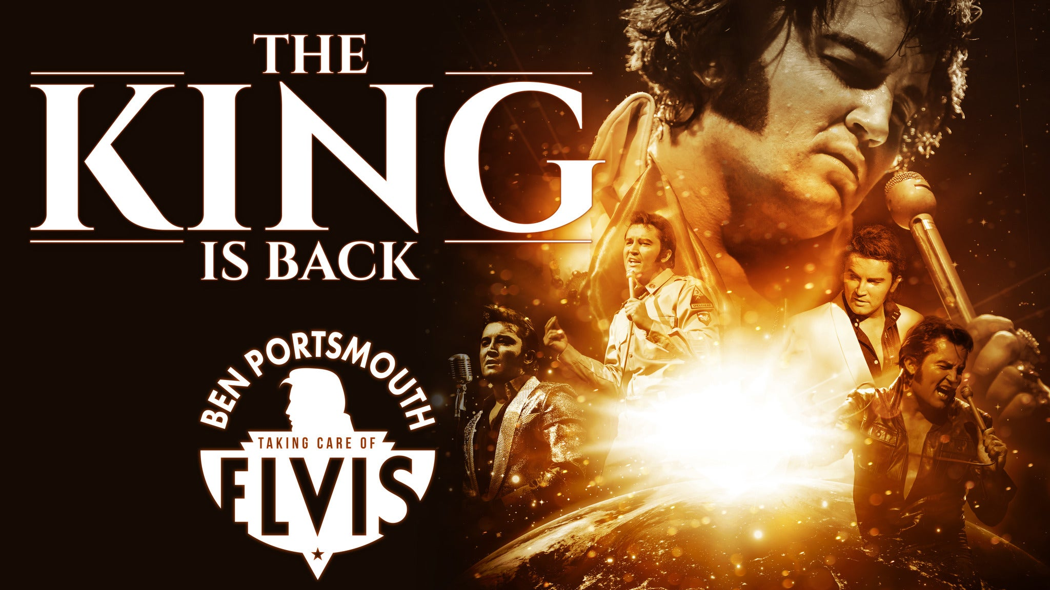 The King Is Back tickets (Copyright © Ticketmaster)