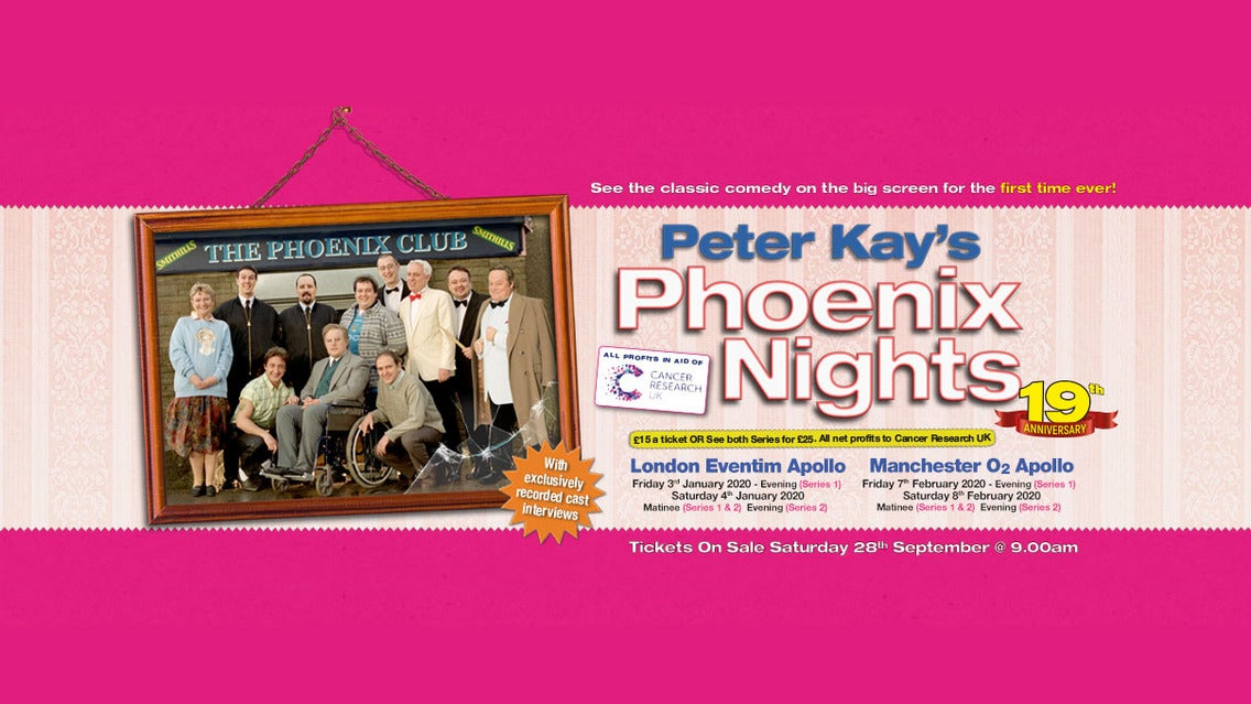 Phoenix Events February 2020.Phoenix Nights Live Tickets Event Dates Schedule