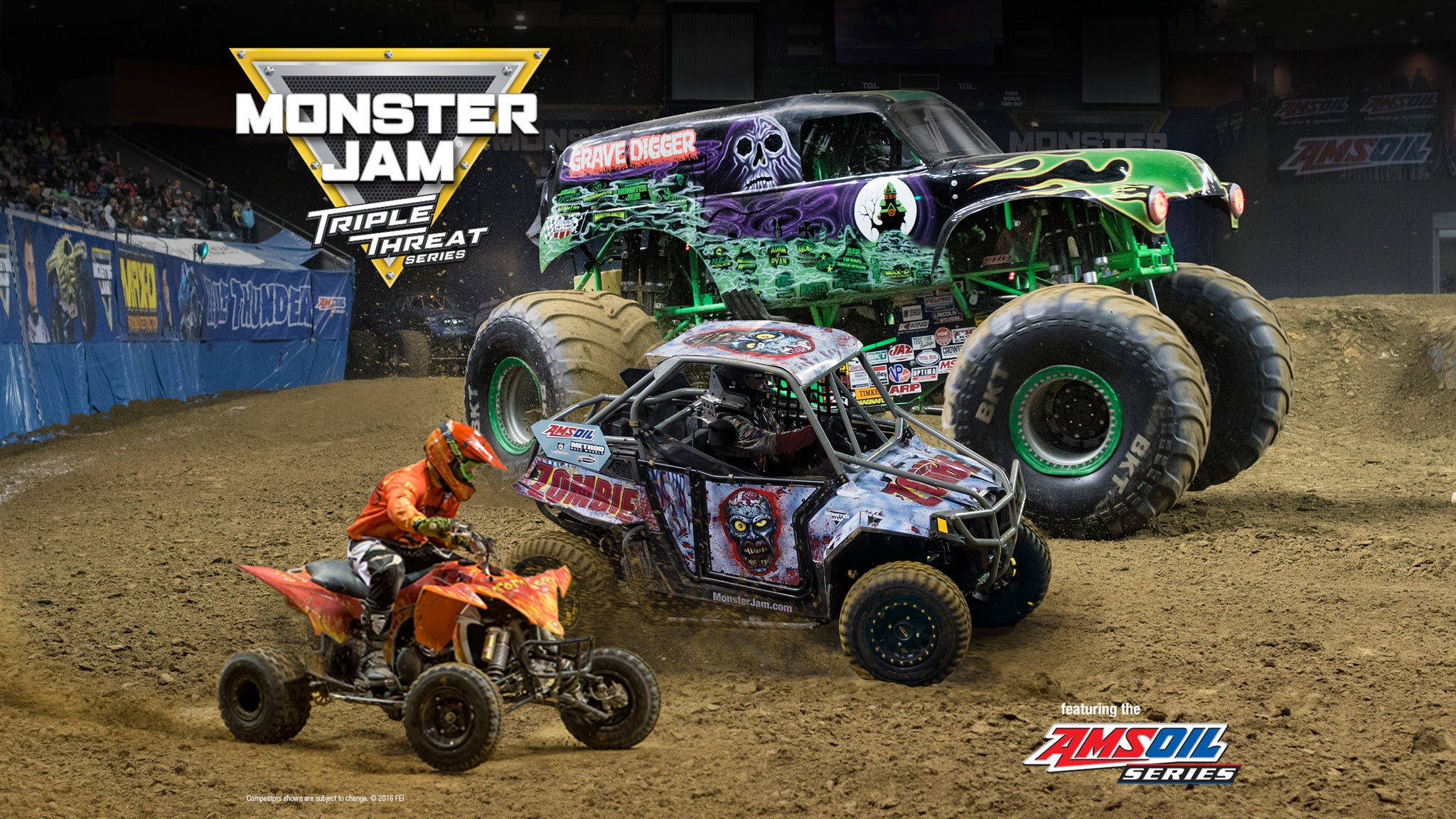 Monster Jam Triple Threat Series featuring the AMSOIL Series - Tucson, AZ 85701