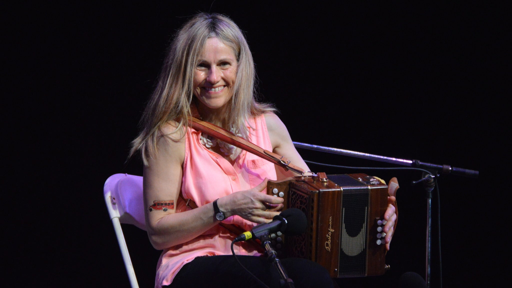Sharon Shannon at Ball State University Pruis Hall