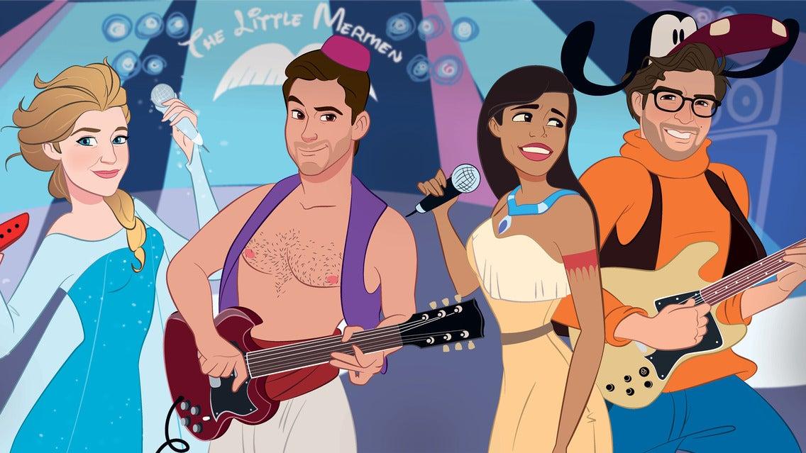 The Little Mermen - The Ultimate Disney Cover Band