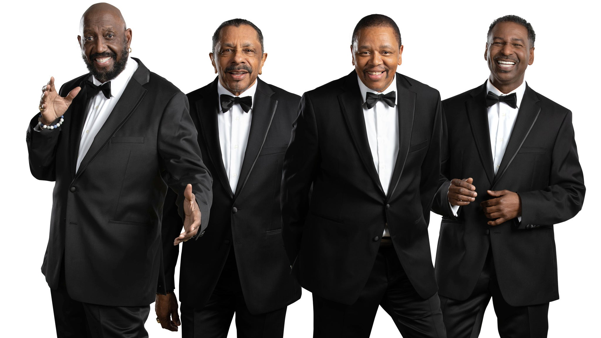 Main image for event titled The Temptations with Special Guests The Four Tops