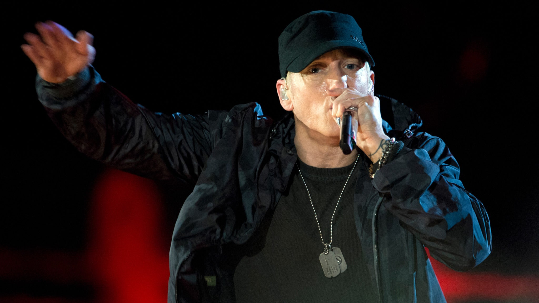 Eminem at Aloha Stadium
