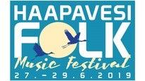Haapavesi Folk Music Festival 2020 VIIKONLOPPULIPPU