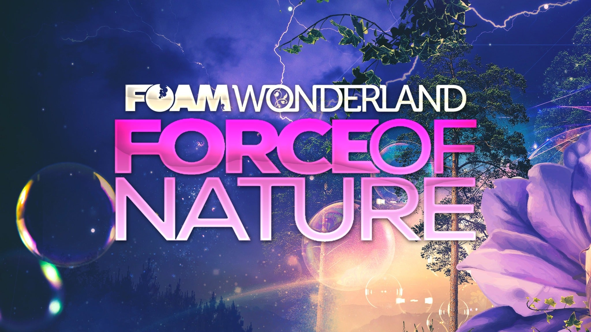 Foam Wonderland at Cuthbert Amphitheater