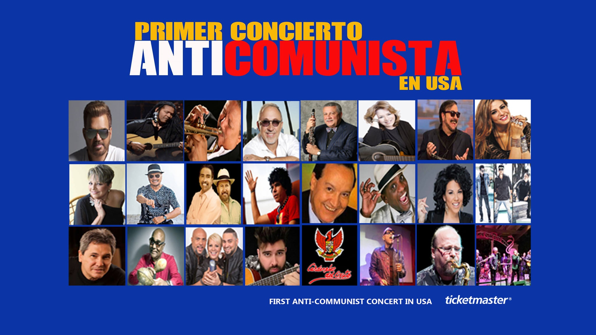 First Anti-Communist Concert in the US- Primer Concierto Anticomunista