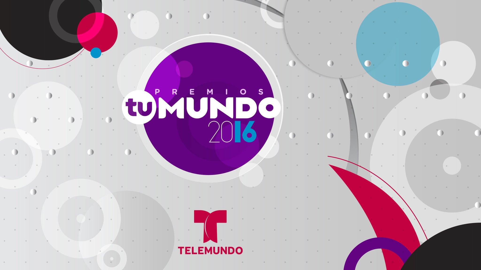 Premios Tu Mundo at AmericanAirlines Arena