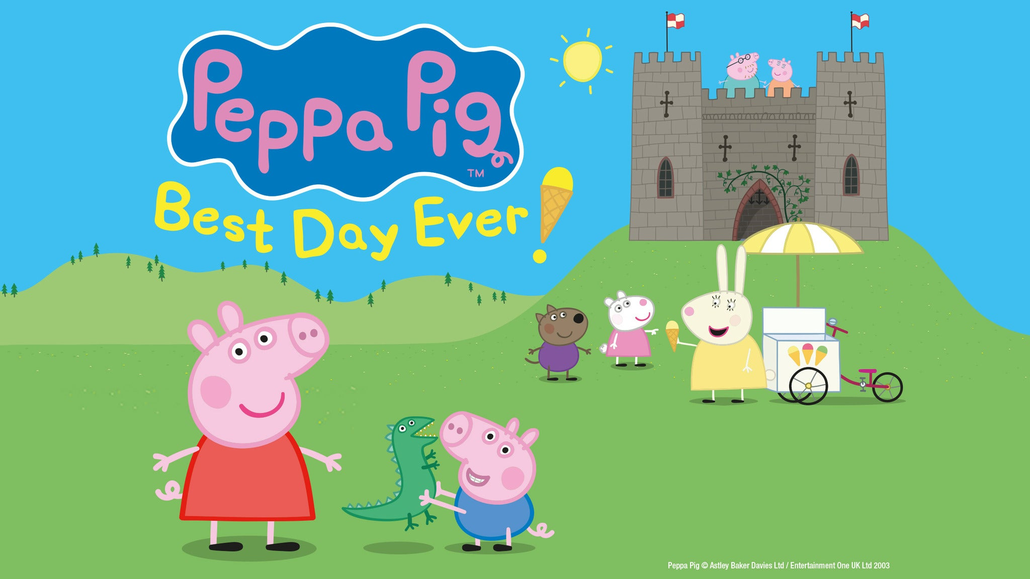 Peppa Pig's Best Day Ever! Seating Plan The Lowry