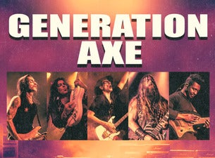 Generation Axe: Vai, Wylde, Malmsteen, Bettencourt, and Abasi