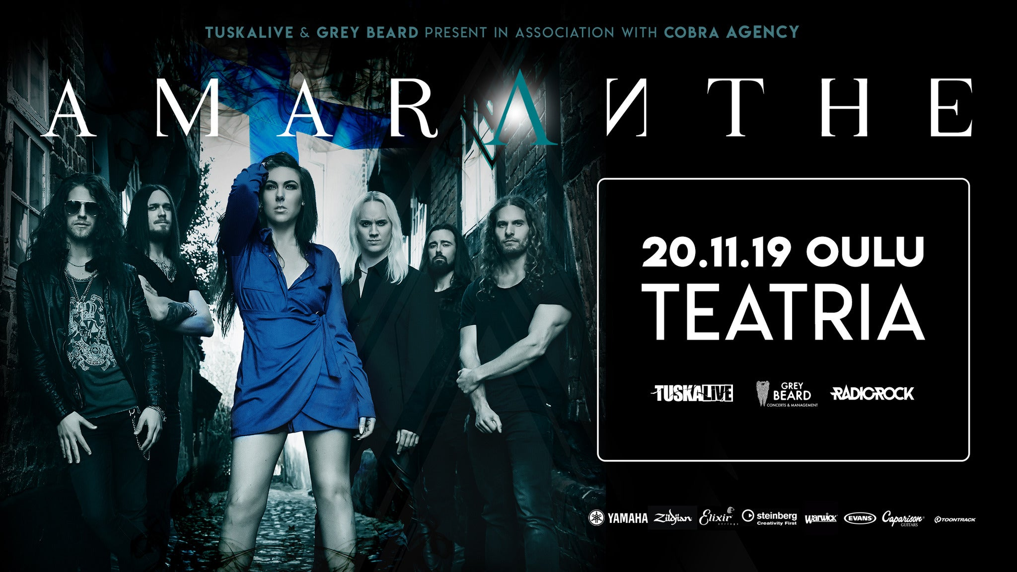 Amaranthe at Route 20 Outhouse
