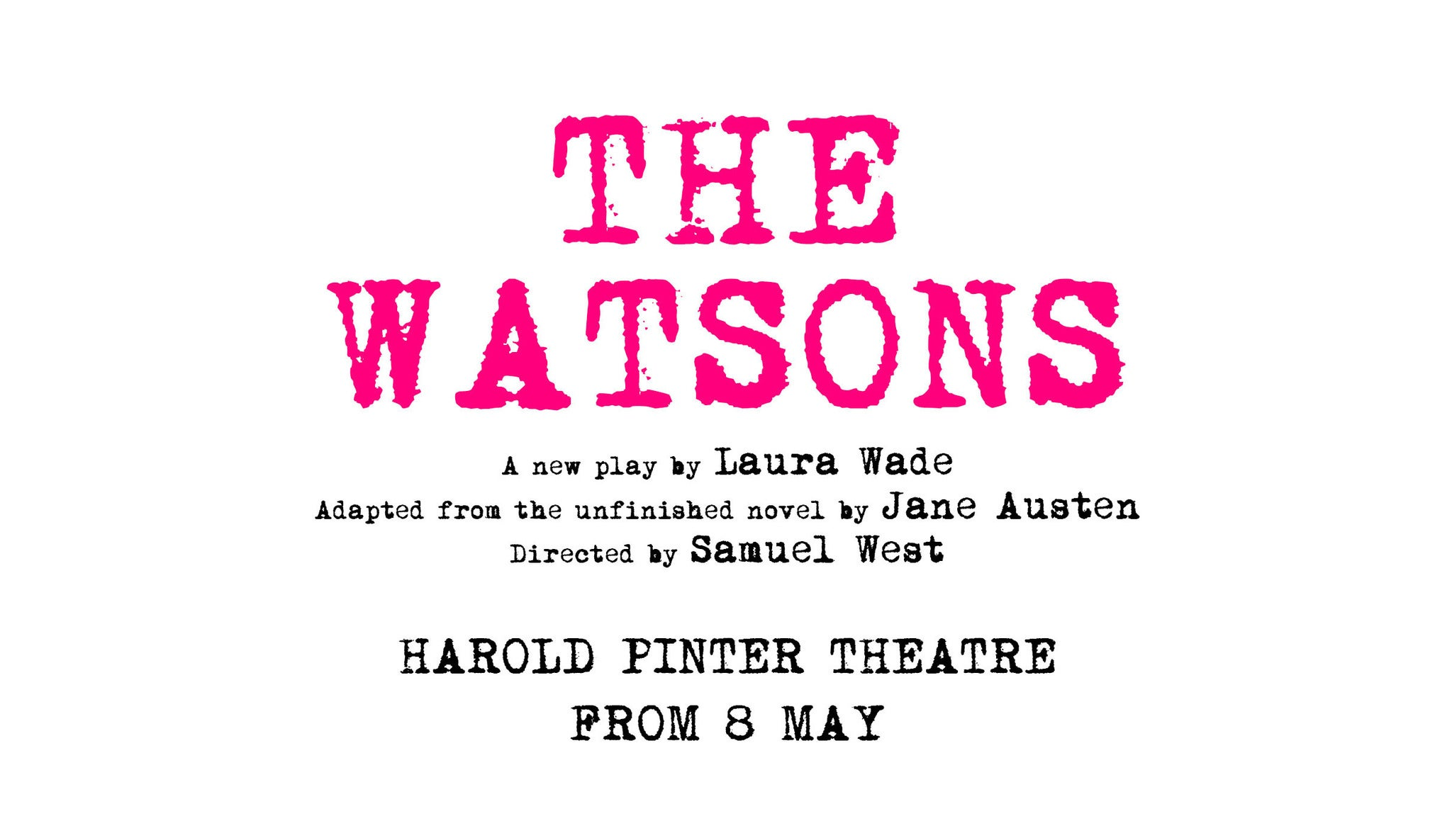 The Watsons Event Title Pic