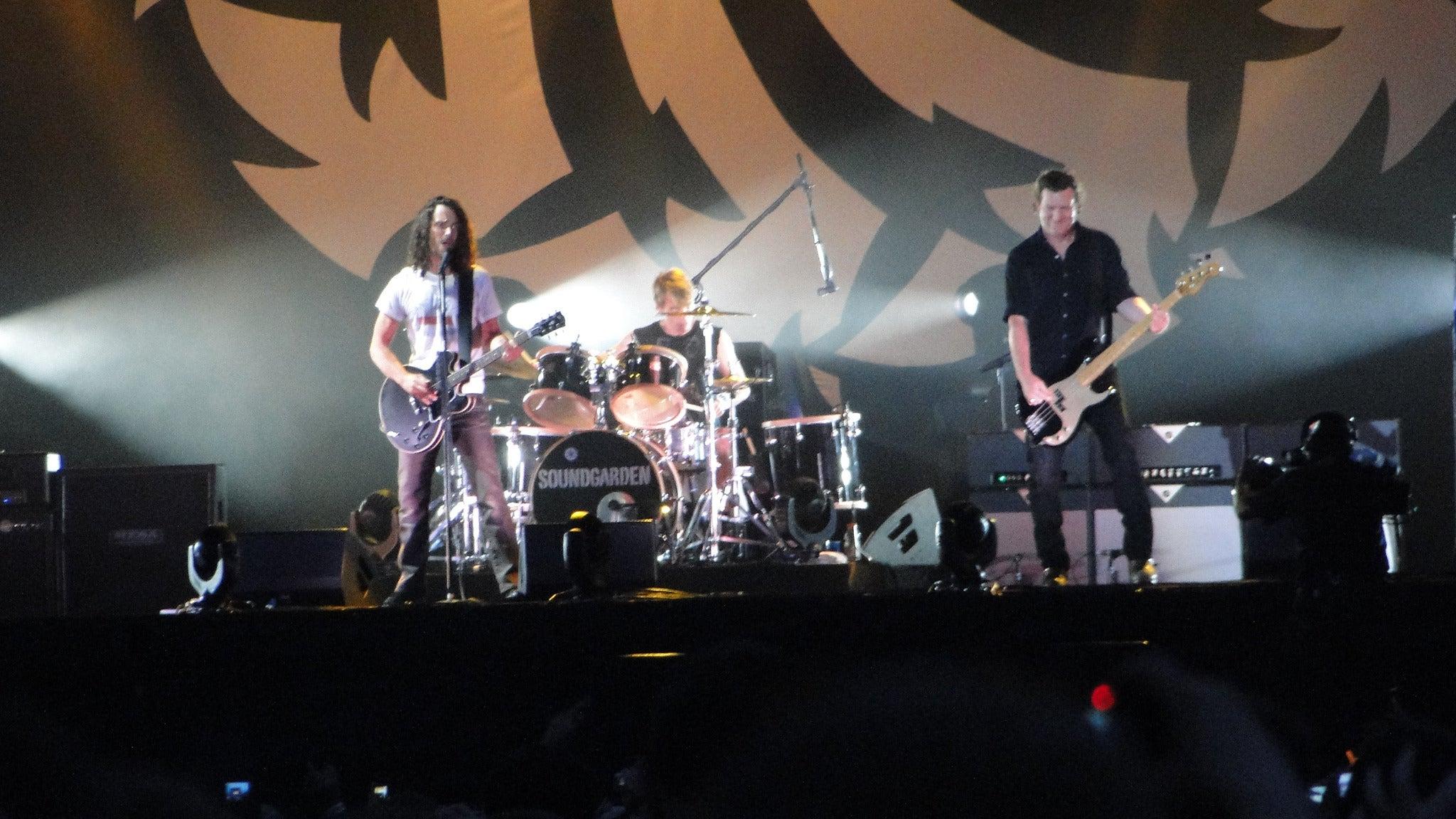 Soundgarden at Tuscaloosa Amphitheater