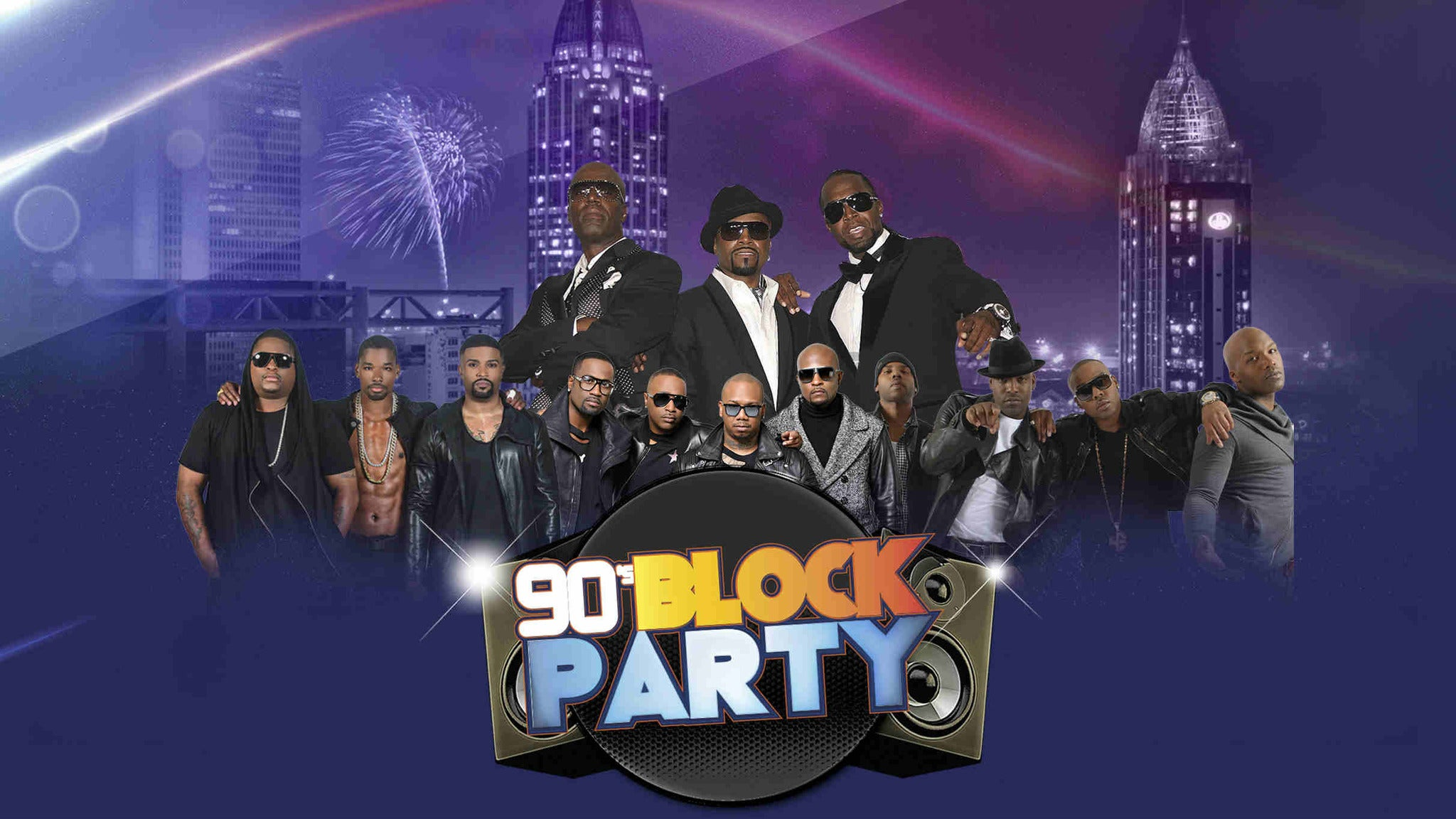 Mobile 90's Block Party at Mobile Civic Center Arena