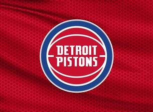 Detroit Pistons vs. Brooklyn Nets