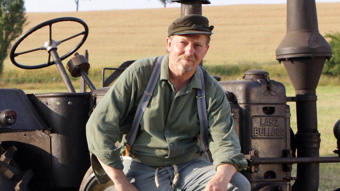 Günther, der Treckerfahrer
