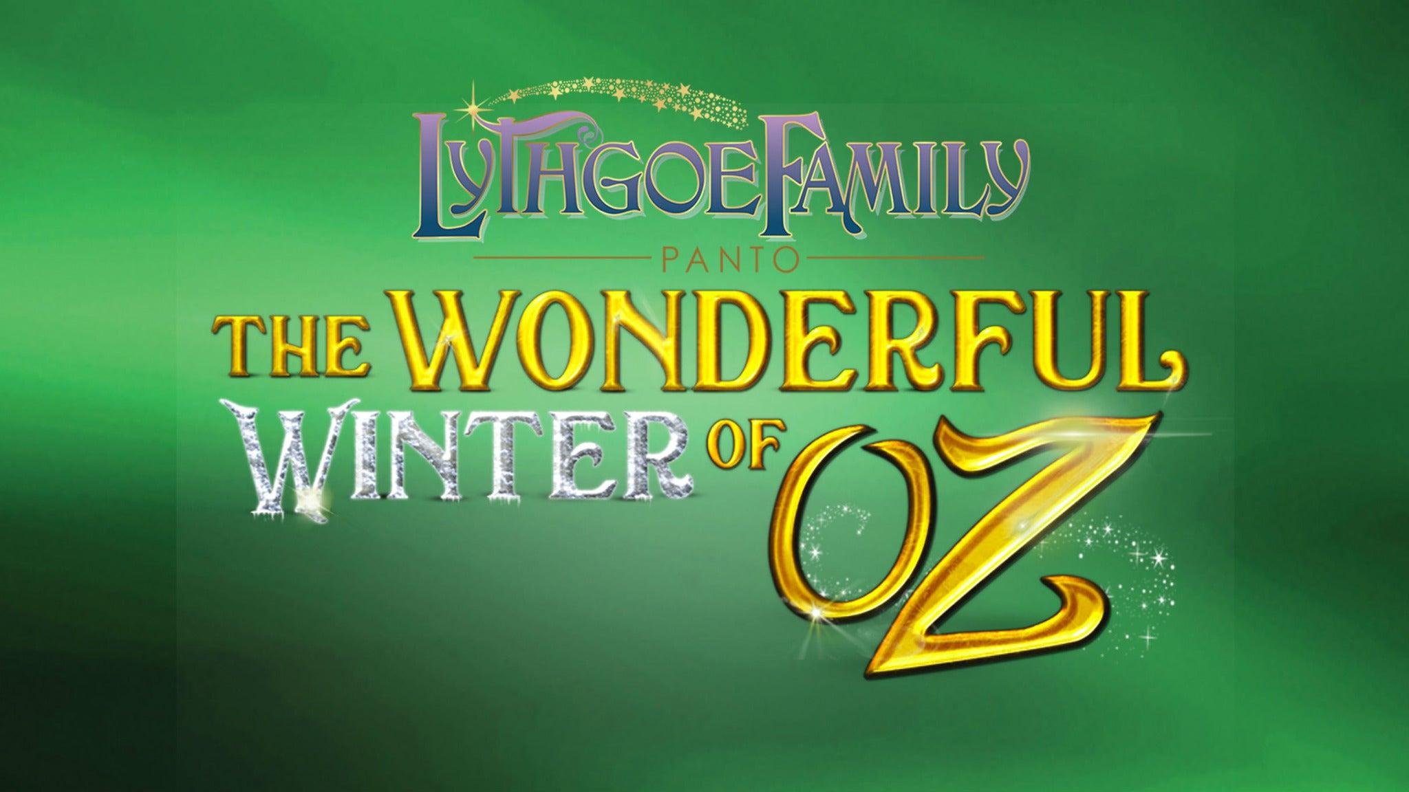 Lythgoe Family Panto's The Wonderful Winter of Oz