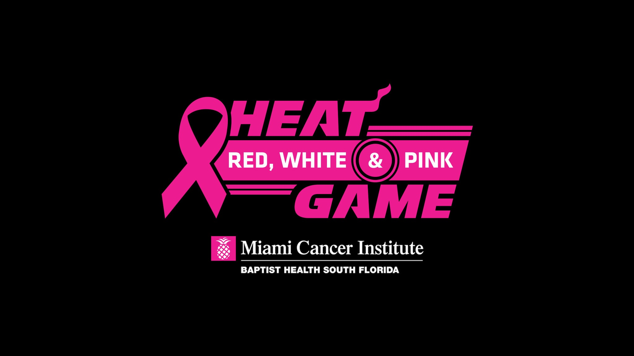 Miami Heat Red, White & Pink Game at AmericanAirlines Arena