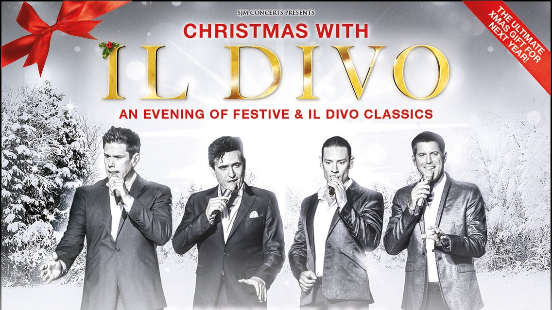 Il Divo tickets (Copyright © Ticketmaster)