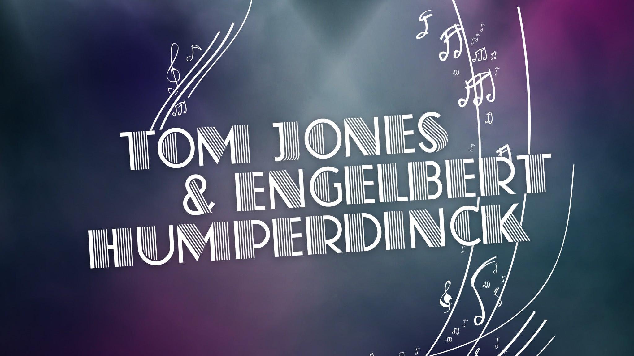 HOMMAGE À TOM JONES ET ENGELBERT HUMPERDINCK