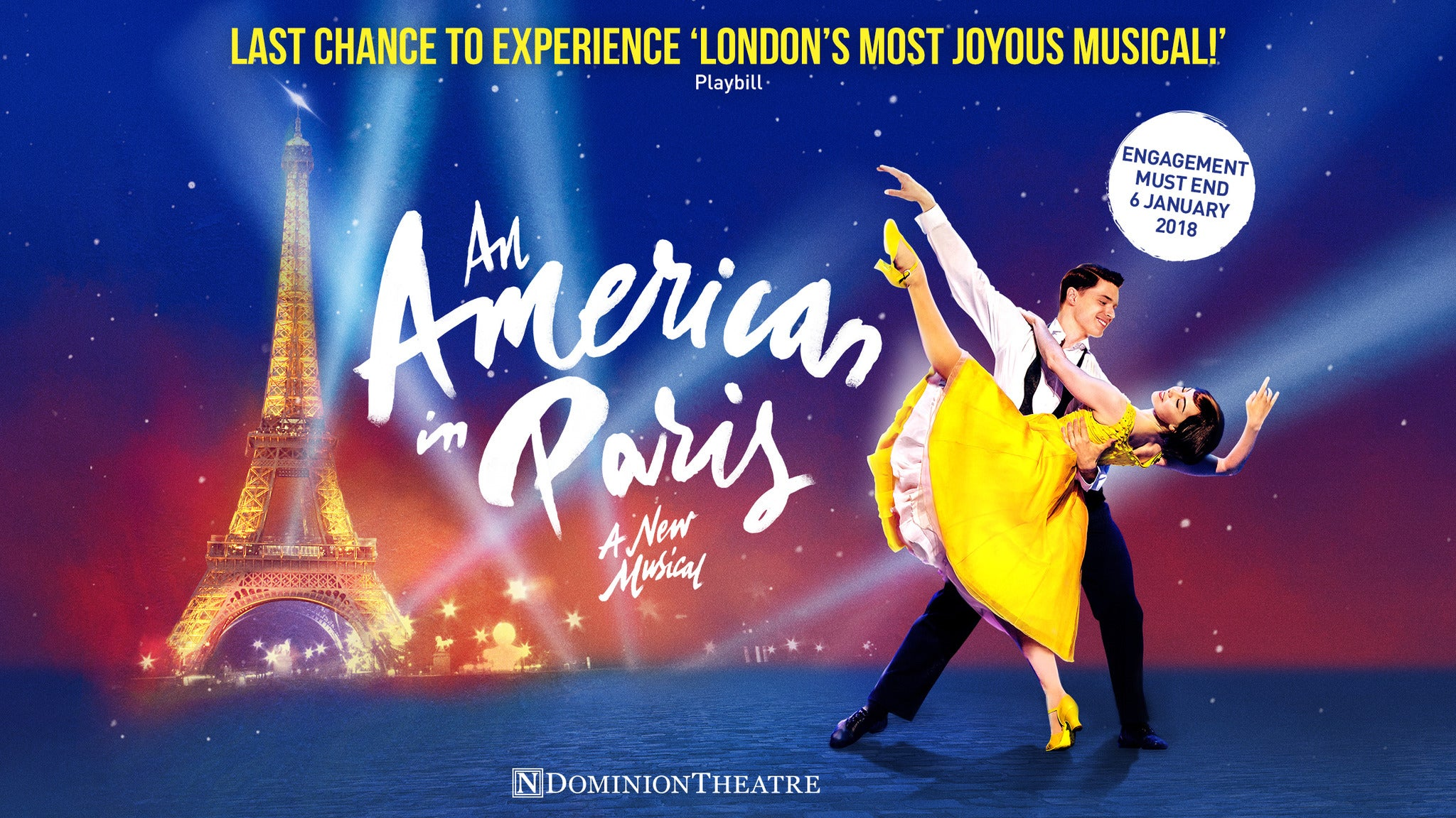 An American in Paris (Touring) at Fox Performing Arts Center