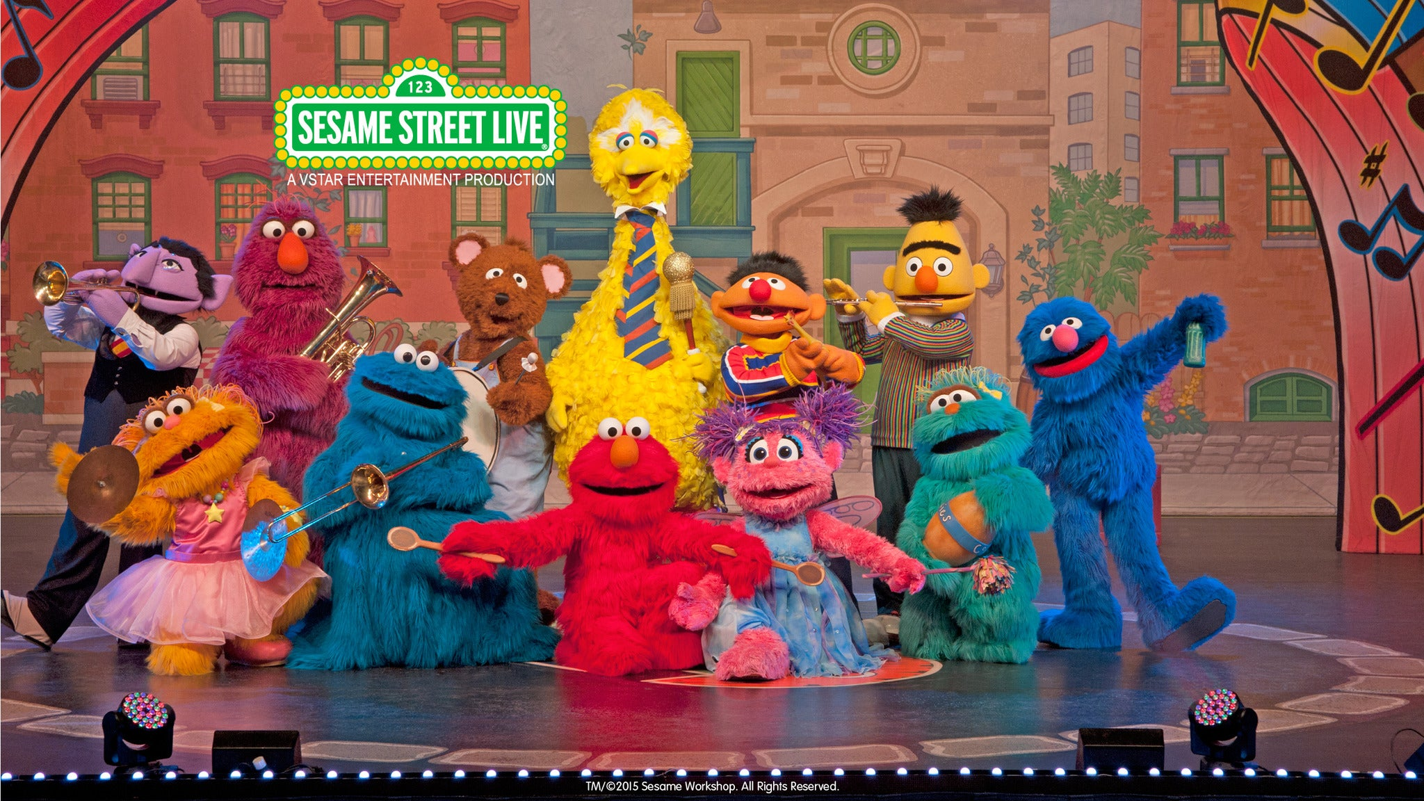 Sesame Street Live : Elmo Makes Music - Montgomery, AL 36104