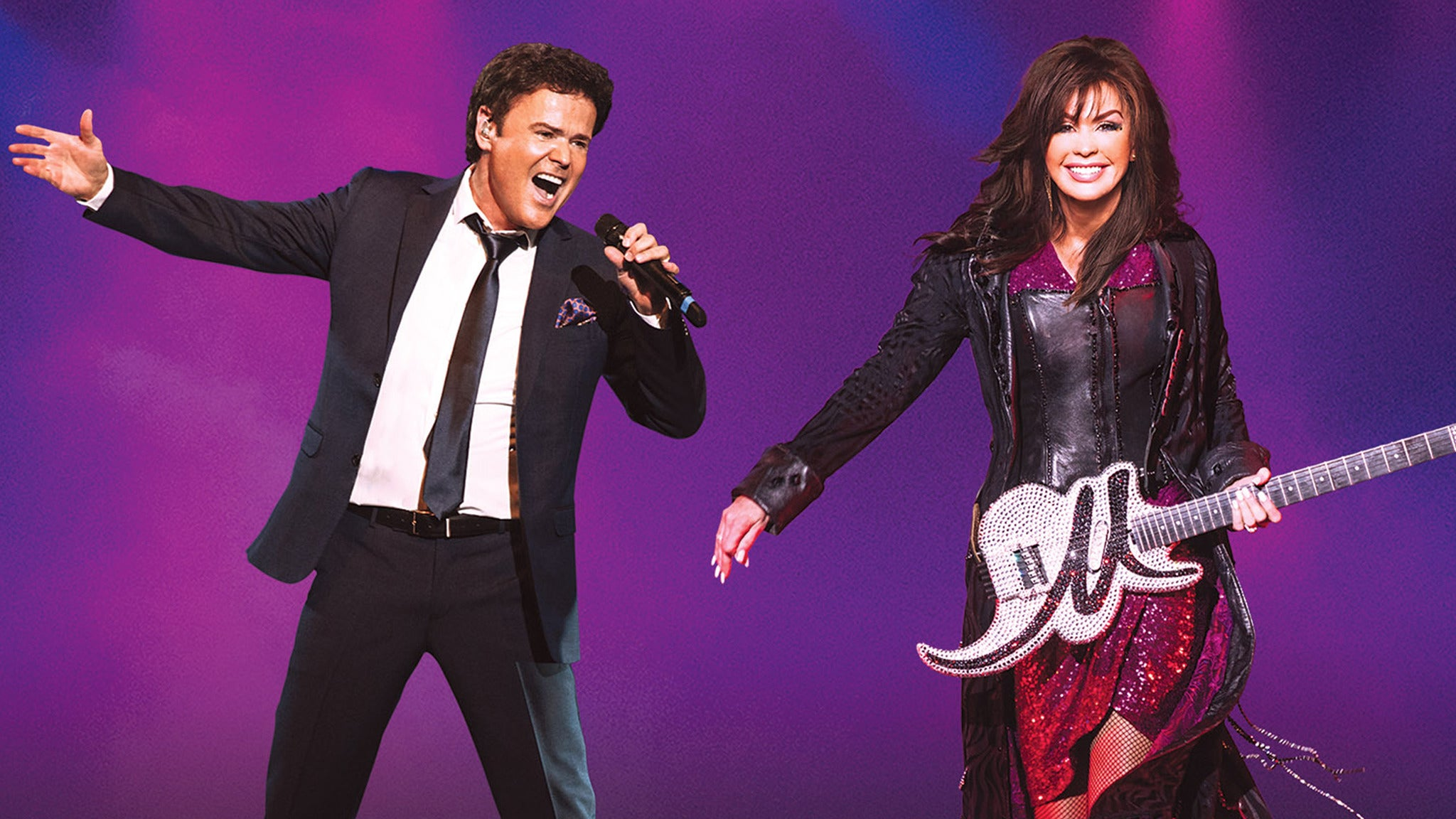 Donny & Marie Summer 2018 Tour at Hard Rock Event Center