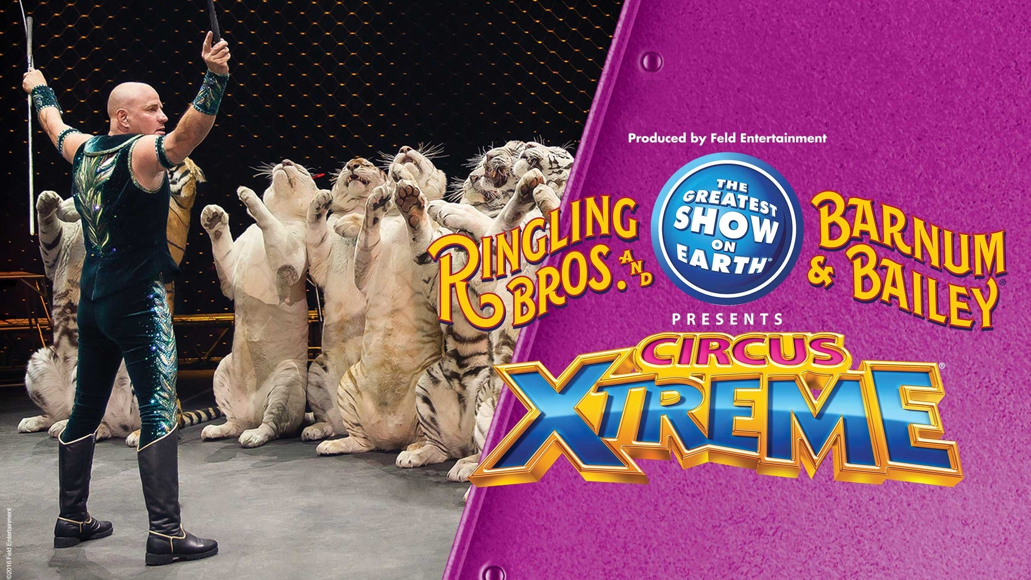 Ringling Bros. and Barnum & Bailey Presents Circus XTREME - Huntsville, AL 35801