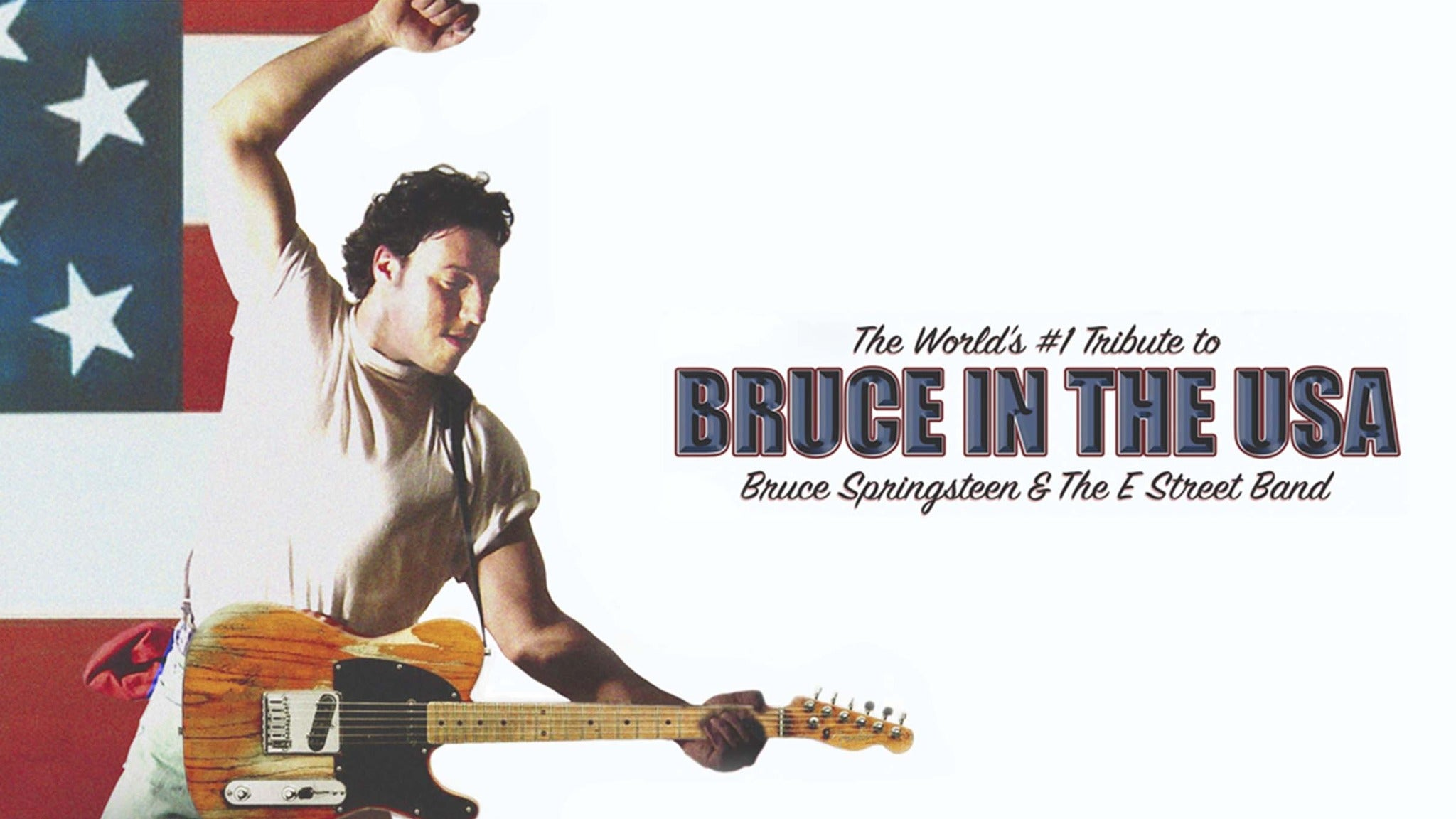 Bruce in the USA at Scottish Rite Auditorium - Collingswood, NJ 08108