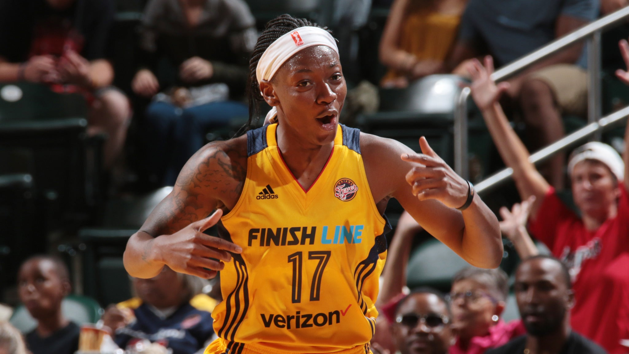 Atlanta Dream at Indiana Fever at Bankers Life Fieldhouse