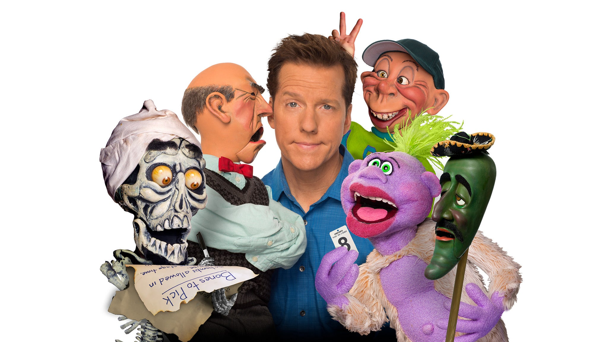 Jeff Dunham at Mountain Winery