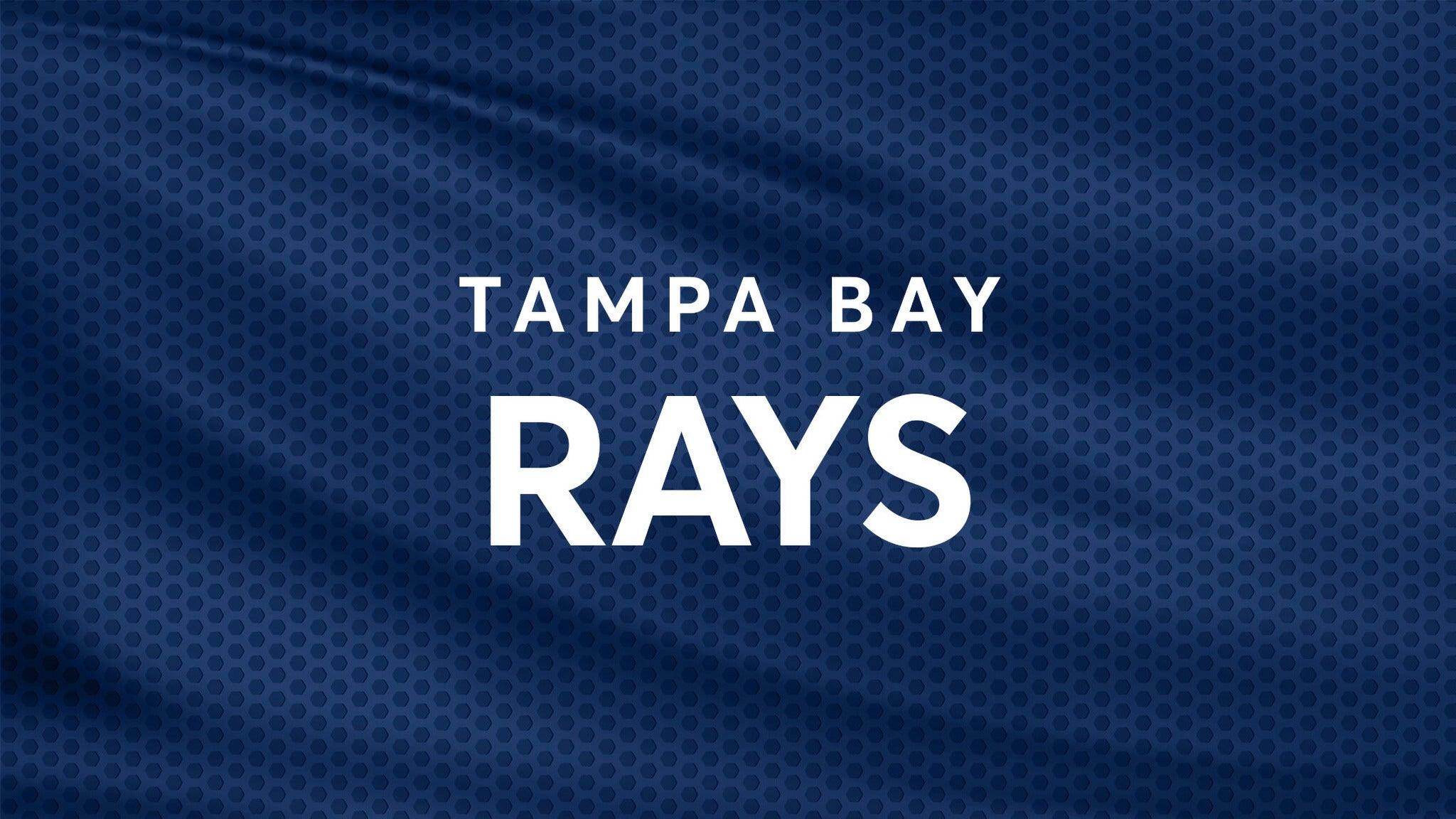 Tampa Bay Rays vs. Chicago White Sox